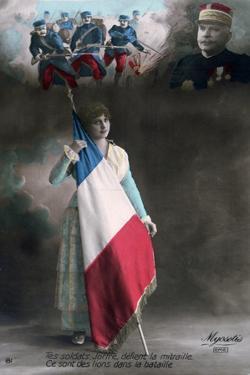 French WWI Postcard, 1914-1918