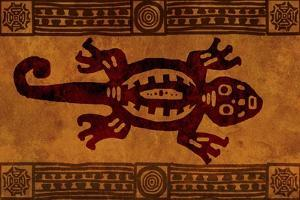 Background With American Indian National Patterns by frenta