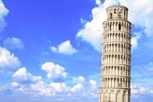 Leaning Tower of Pisa in Italy by frenta
