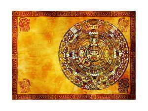 Maya Calendar by frenta