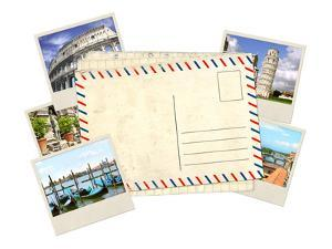 Memories of Italy. Old Post Card and Photos by frenta