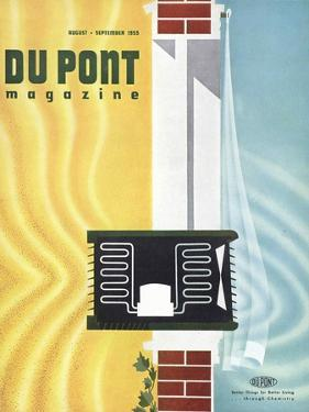 Freon, Front Cover of the 'Dupont Magazine', August-September 1955