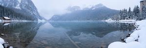Fresh Snow at Lake Louise, Banff National Park, Alberta, Canada