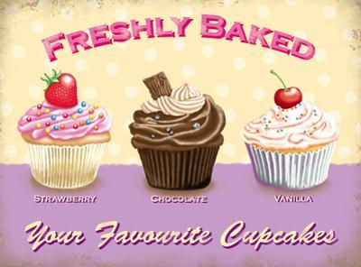 Freshly Baked - Your Favourite Cupcakes