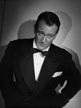 John Wayne in a bowtie by Freulich