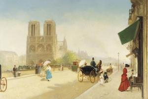 Friant, One Summer Day near Notre-Dame