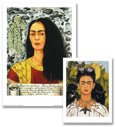 Frida Kahlo Art Print Set