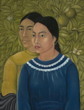 Dos Mujeres (Salvadora y Herminia), 1928 by Frida Kahlo