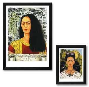 Frida Kahlo Framed Art Print Set