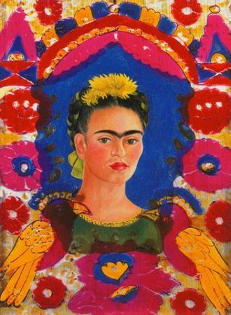 The Frame, c. 1938 by Frida Kahlo