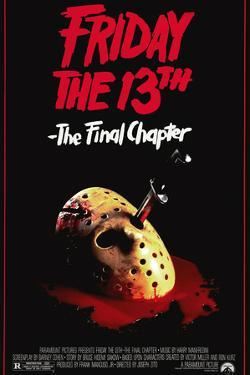 FRIDAY THE 13TH. THE FINAL CHAPTER [1984], directed by JOSEPH ZITO.