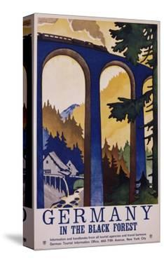 Germany in the Black Forest Poster by Friedel Dzubas