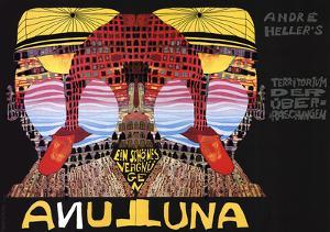 Luna Luna by Friedensreich Hundertwasser