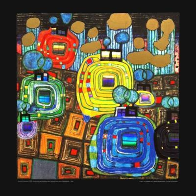 Pavilions and Bungalows for Natives and Foreigners by Friedensreich Hundertwasser