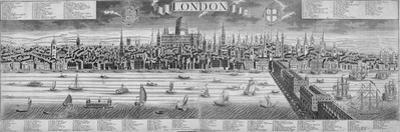 The City of London and the River Thames, 1710