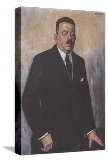 Friedrich Ebert-Hans Baluschek-Stretched Canvas