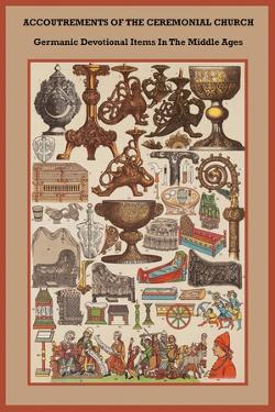 Germanic Devotional Items in the Middle Ages by Friedrich Hottenroth
