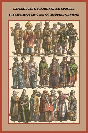 Laplanders and Scandinavian Apparel - Close of the Medieval Period