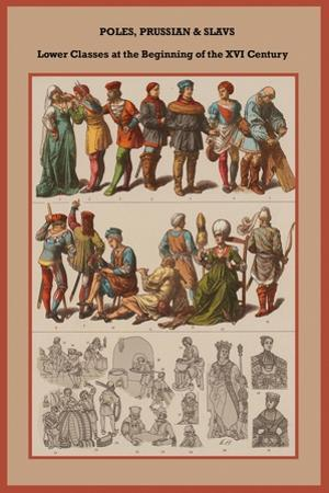 Poles, Prussian and Slavs Lower Classes at the Beginning of the XVI Century