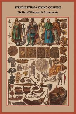 Scandinavian and Viking Costume Medieval Weapons and Armaments by Friedrich Hottenroth