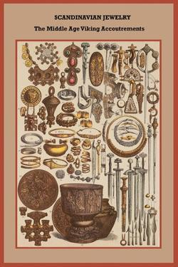Scandinavian Jewelry the Middle Age Viking Accoutrements by Friedrich Hottenroth