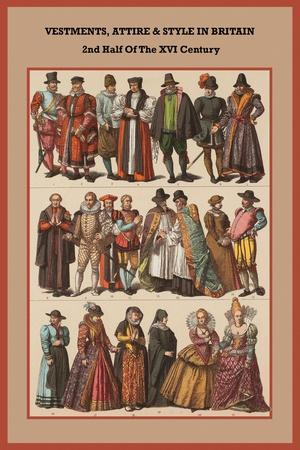 Vestments, Attire and Style in Britain 2nd Half of the XVI Century