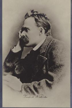 Friedrich Nietzche (1844-1900), German Philosopher and Writer