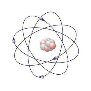 Beryllium, Atomic Model by Friedrich Saurer
