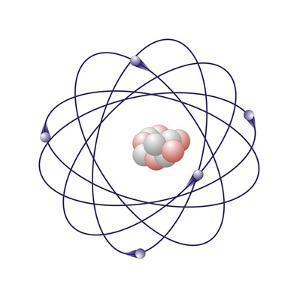 Boron, Atomic Model by Friedrich Saurer