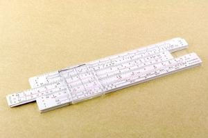 Logarithmic Slide Rule by Friedrich Saurer