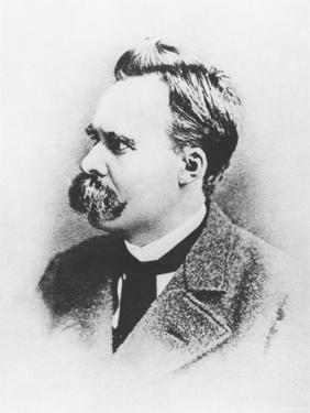 Friedrich Wilhelm Nietzsche in 1883, Illustration from Nietzsche by Daniel Halevy