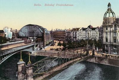 Friedrichstrasse Train Station, Berlin, Germany