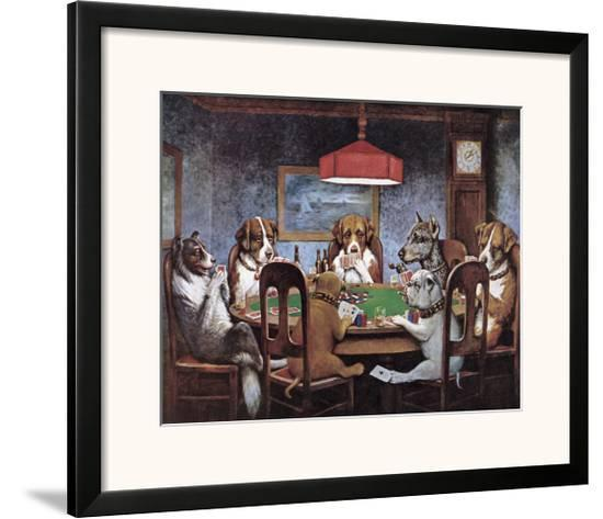 Friend In Need-Cassius Marcellus Coolidge-Framed Giclee Print