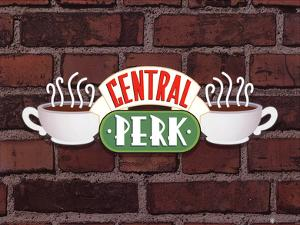 Friends (Central Perk Sign) Television Poster