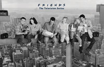 Friends- Lunch On A Skyscraper