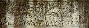Frieze, Angkor Wat, Cambodia