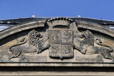 https://imgc.allpostersimages.com/img/posters/frieze-with-coat-of-arms-and-lions-rampant-la-caucherie-castle_u-L-PPTGO10.jpg?p=0
