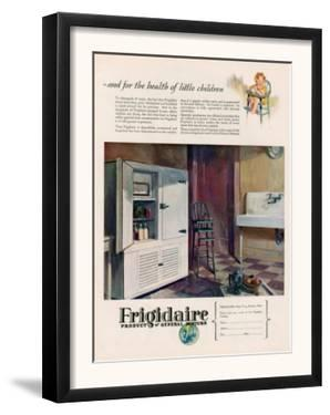 Frigidaire, Magazine Advertisement, USA, 1926