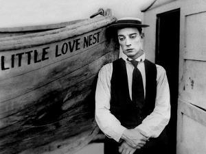 Frigo and la baleine THE LOVE NEST by Edward F Cline and Buster Keaton with Buster Keaton, 1923 (b/