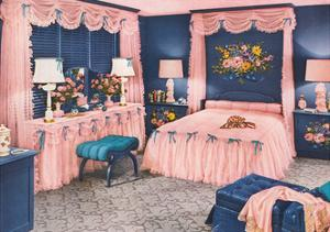 Frilly Pink Bedroom Suite