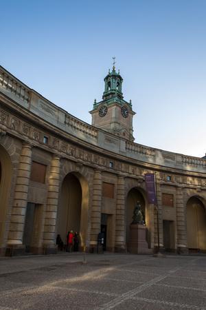 Stockholm Palace, Castle Square, Tower
