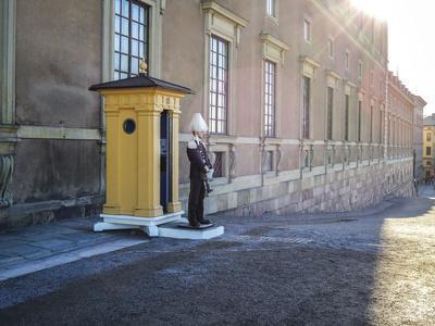 Stockholm Palace, Guard, West Front