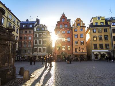 Terrace, Market Square, Stortorget, Stockholm
