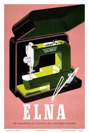 Elna - La Machine à Coudre de Ménage Idéale (Elna - The Ideal Household Sewing Machine)