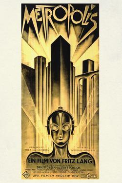 Metropolis Movie Fritz Lang by Fritz Lang