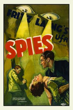 Spies by Fritz Lang