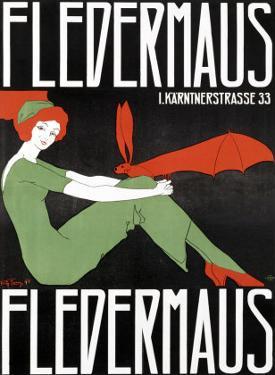 Fledermaus by Fritz Langer