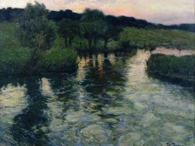 Landscape with a River by Fritz Thaulow