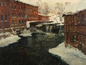 Mill Scene, C.1885-90 by Fritz Thaulow