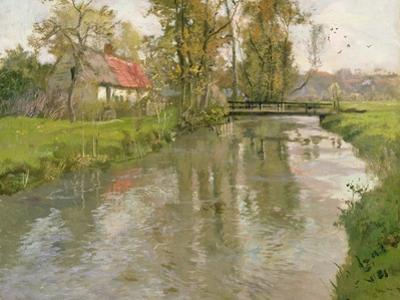 River Landscape, C.1897